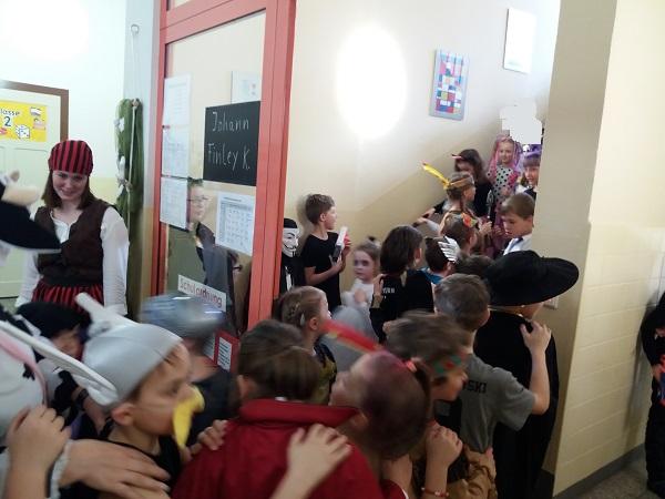 05.03.2019 Faschingsgaudi in der Grundschule
