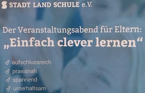 """14.03.2019  Elternseminar: """"Einfach clever Lernen"""""""