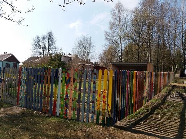13.04.2019 Schulgartenaktion – Zaun